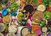 couleurs au marché