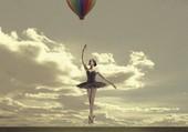 Danseuse à la mongolfière