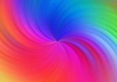 Puzzle spirale multicolore