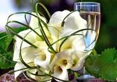 Bouquet de fleurs pour l'an neuf