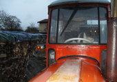 Tracteur avec nouveau chauffeur