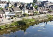 Puzzle Le quai d'Argentat ( Corrèze)