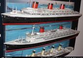 maquette Normandie France Titanic
