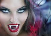 fille vampire