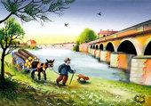 promenade à la rivière