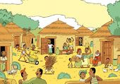 Village africain