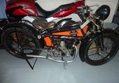 La vieille moto