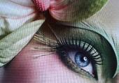 Puzzle Joli maquillage .