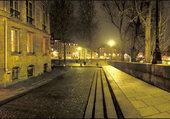 Puzzle Paris bords de Seine la nuit