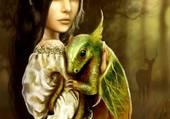 l elfe et le dragon