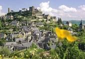 Puzzle Vue du village de Turenne en corrèze