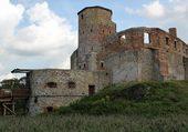 ruines de Siewierz (pologne)