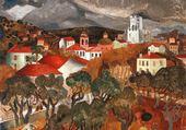 Landscape near Vence
