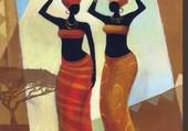 Deux soeurs par Keith Mallett