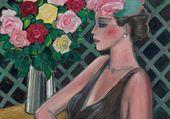 les roses du jardin  J-P Cassigneul