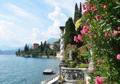 Rive d'un lac Italien