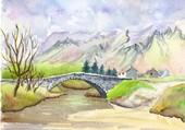pont de montagne
