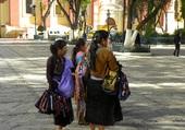 Vendeuses de sacs au Mexique