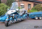 1500 goldwing +side car + remorque