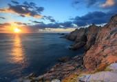 Puzzle Coucher de soleil en Bretagne