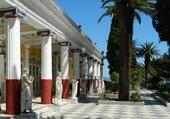le Palais de Sissi à Corfou