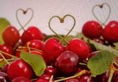 Coeurs de cerise !