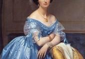 La Princesse de Broglie par Ingres