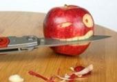 Attention a la pomme