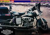 Puzzle 1979 Harley-Davidson 1200 FLH