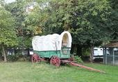 chariot américain dans l'Orégon