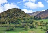 les monts du cantal en automne