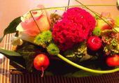 Composition florale comtemporaine