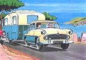 La route des vacances