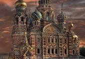 Cathédrale à St-Persbourg Russie