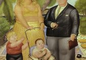 la famille Lloyd - Botero