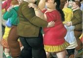 Les danseurs - Botero