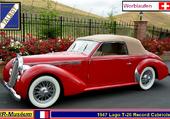 Talbot-Lago T26 Record Worblaufen