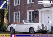 Talbot-Lago T26 Record Dubos