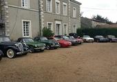 les voitures du club