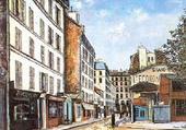 Puzzle Rue de Paris
