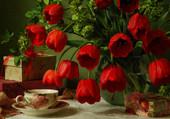Puzzle Très jolies tulipes