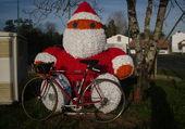 Puzzle Noel à vélo