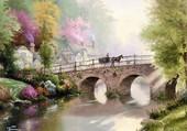 Le pont de Thomas Kinkade
