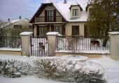 La Lorraine sous la neige
