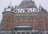 le chateau Frontenac a Quebec