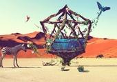 Puzzle Life in desert