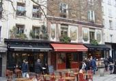 La rue Mouffetard à Paris 5