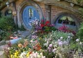 Puzzle Village des Hobbits . Nouvelle Zélande