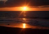 Coucher de soleil Baie de St Paul