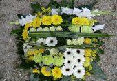 Très joli coussin de fleurs